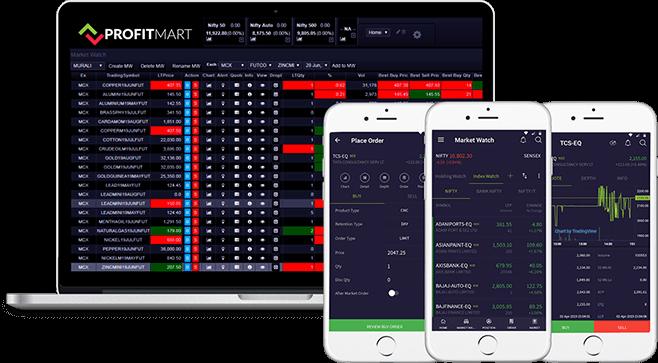 profitmart mobile app & desktop apllication